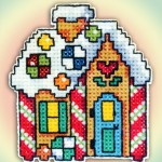 Cross stitch - Candy House