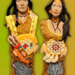 Ceramic - Indian Couple