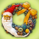 Ceramic - Christmas Wreath